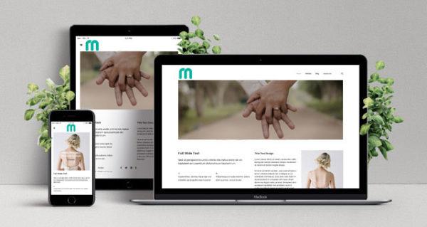 Sito web matrimonio - wedding website