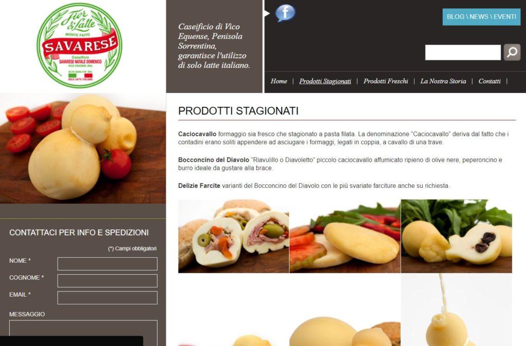 zoomart.net-realizzazione-sito-web-caseificio-savarese-web-agency-napoli-siti-web-sorrento
